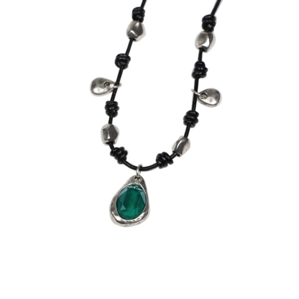 Collar casual OVAL verde