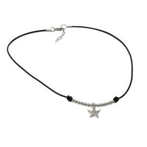 Collar con colgante estrella de mar