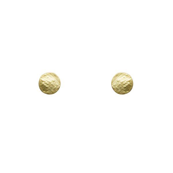 Pendientes bañados en oro colección DUETTO