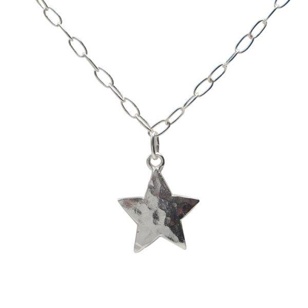 Collar con colgante estrella
