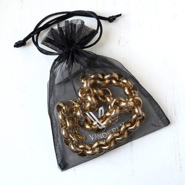 Collar de cadena bañado en oro MAGIC