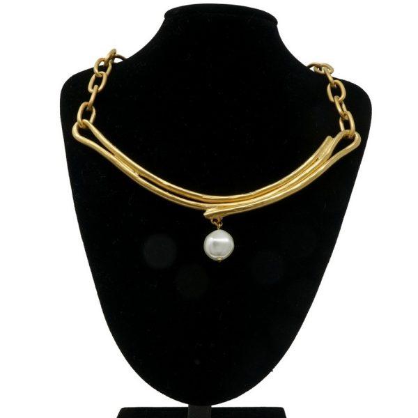 Collar oro mate NATURE